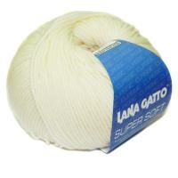 Lana Gatto Super Soft (00978) 100% меринос экстрафайн 50 г/125 м фото